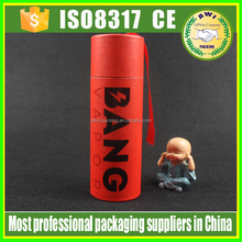 papers packing perfume recyclable feature cartoon tube red color cosmetic kraft paper tube