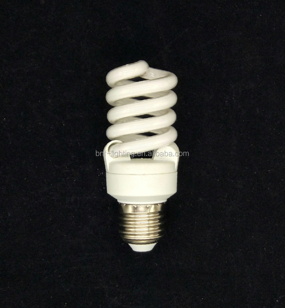2017 New t2 spiral 15w 35w 36w 6400k cfl light bulb with lowest price