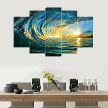 Printed 5 piece canvas art custom made Painting Canvas Print custom photo image custom print poster picture canvas