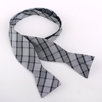 Wholesale fashion neckwear double side self tie bow tie