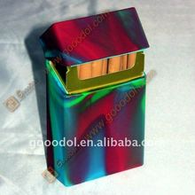 multicolor silicone cigarette case