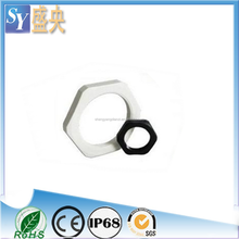 SY Polyamide Lock Nut Cable Glands Locking Nut Plastic fastener