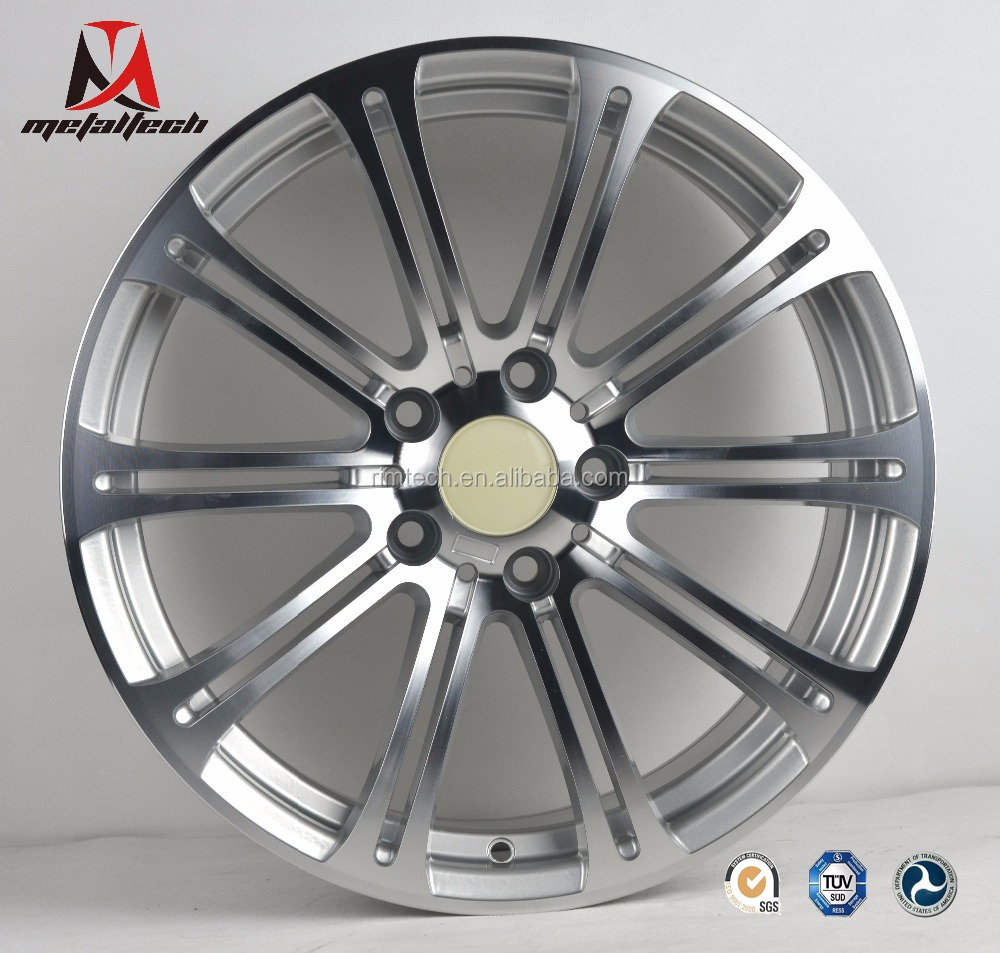Machined face 18x8,18x8.5 inch replica aluminum wheel rims for BMW