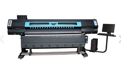 digital sublimation printer.high speed 75m2/h.Digital indoor printer.Double 5113 heads-SN-S8800