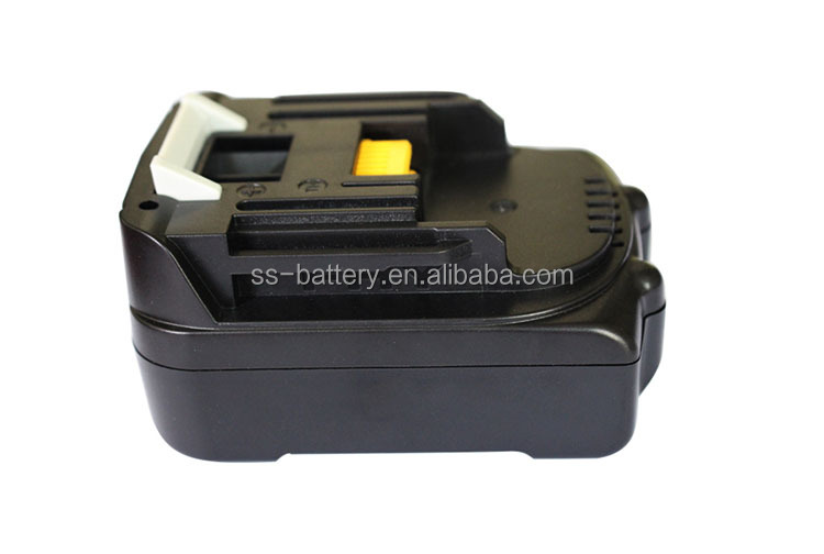Good quality performance 14.4v 1500mah li ion power tool battery pack