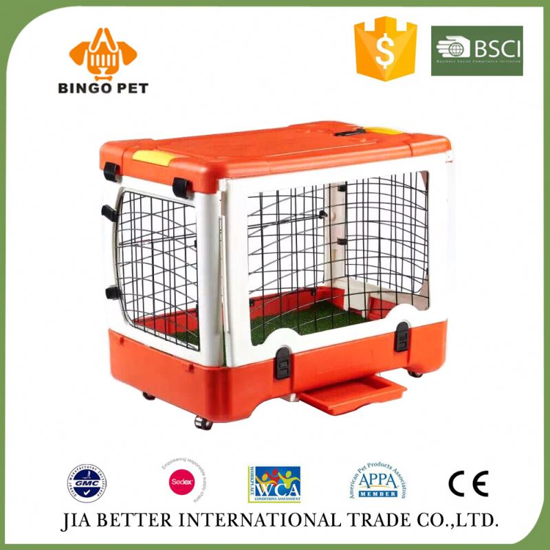 Factory price high grade large metal pet display cage