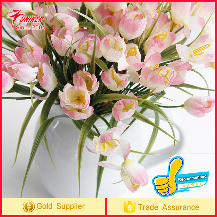 2017 trend prouct High Quality mini tulip Real Touch Flower Artificial