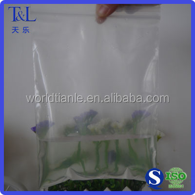 2 Mil stock for Christmas packaging food and gift plastic reclosable ziplock bag