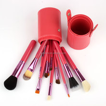 12pcs makeup brush set colorful make up brush set professional with holder