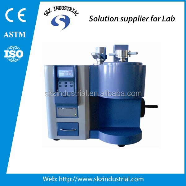 LCD melt flow indexer