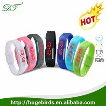 Good Quality Classical Sports LED Silicone Wristband Watch