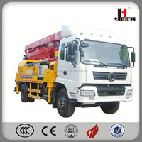 Used Second-Hand Concrete Boom Pump Truck For Africa Market