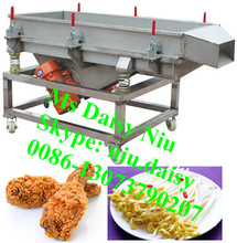 commercial vegetable dewatering screen/sprouts water vibrating screen/water vibrator shaker screen
