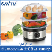 Mini housing Stainless steel Electric food steamer, portable food steamer
