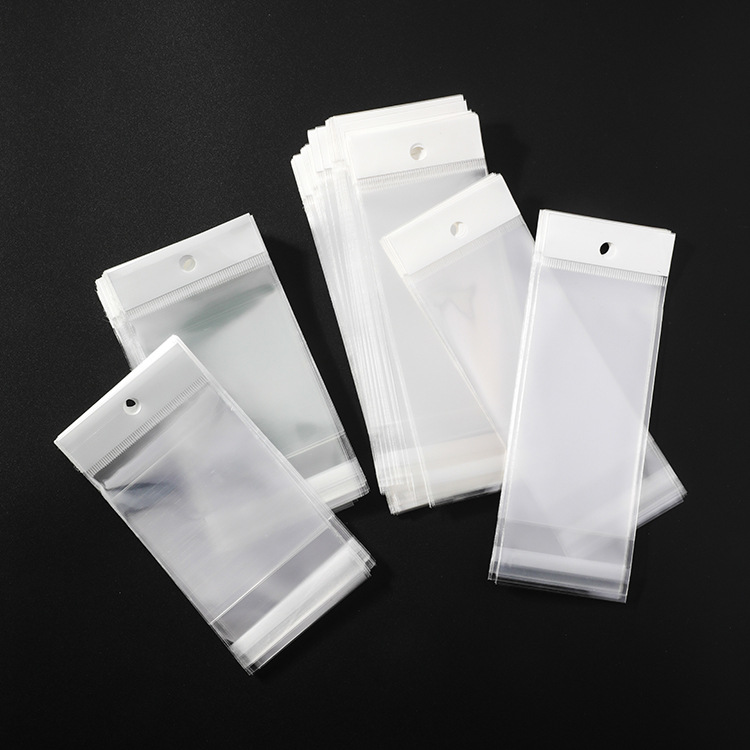 earring necklace opp Plastic bag jewelry Packaging bags for jewelry cards