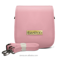 Fuji Fujifilm Instax Mini 25 Instant Polaroid Film Camera Case - Light Pink