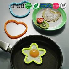 2017 Kitchenware Silicone Fried Egg Mold / Silicone Egg Form For Shaping Egg