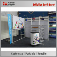 3x3 Portable exhibition booth rental, China exhibition stand contractor