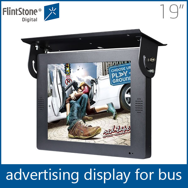 FlintStone 19 inch firmware upgrade mp4 player point of sale sign board