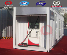 ISO certificate mobile petrol filling gas station/skid mounted container station