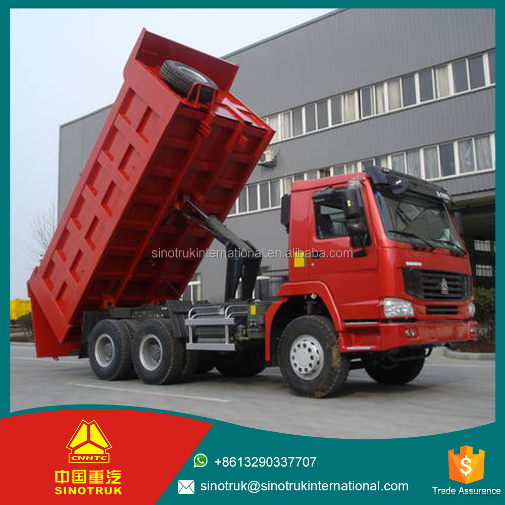 sinotruck howo dump truck ZZ3257M3447A1 for sale in dubai