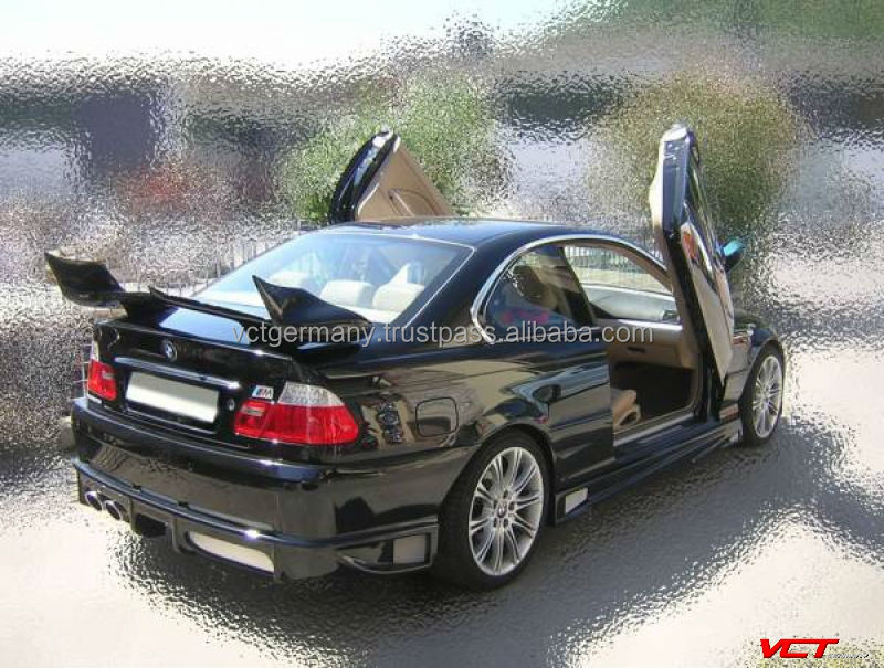 rear spoiler wing suitable for bmw e36