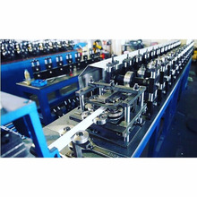 Suspended Ceiling Framing Tee Grid roll forming machine , T Grid forming automatic production line