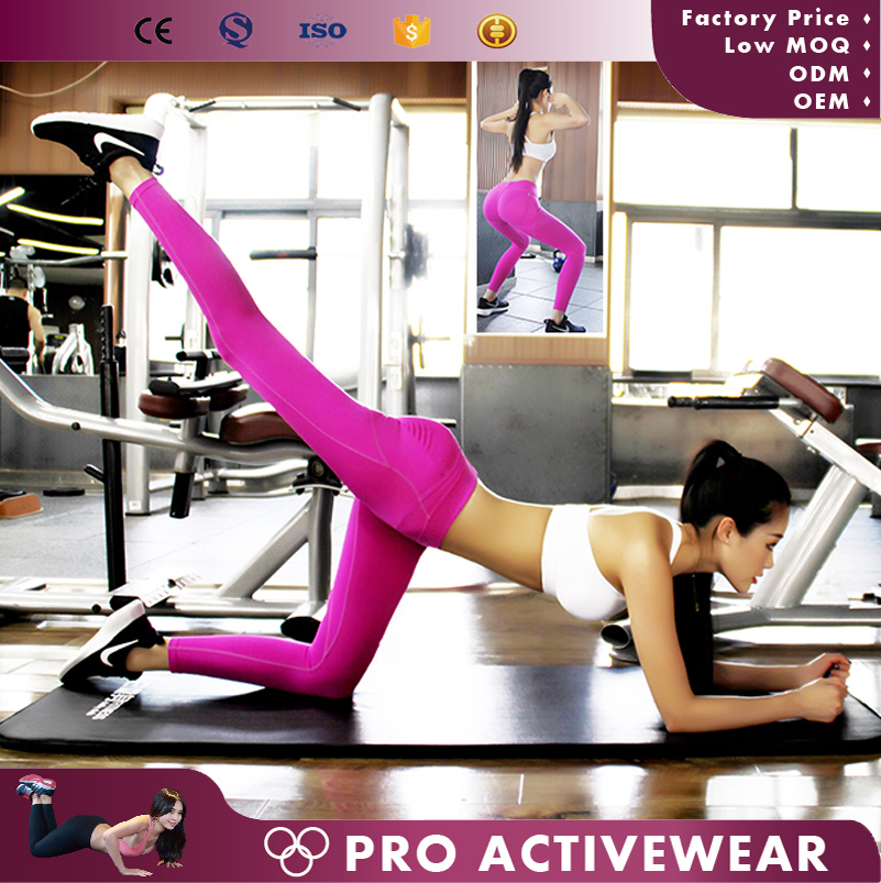 (Trade assurance)female wears fashion breathable yoga pants gym wear