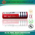protected 18650 battery 2200mah full capacity Li-ion battery with PCB