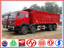 China brand new 30ton 12-wheel beiben dump truck sale for kenya