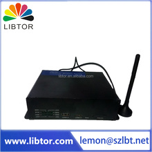 High power Cellular router wireless 3G / 4G LTE industrial grade WCDMA/GSM SIM Router Wireless router supporting GPS function