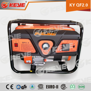 Chongqing Generator 2.8kw 2800w Motors Gasoline Generator for Home Use
