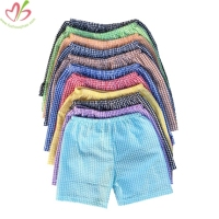 100% Cotton Seersucker Boys Beach Shorts