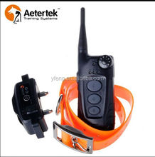 waterproof agility animal collar electronic aetertek at-918 boundary guard shock training collars