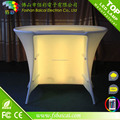 2017 LED lighted tall commercial restaurant bar counter design for sale