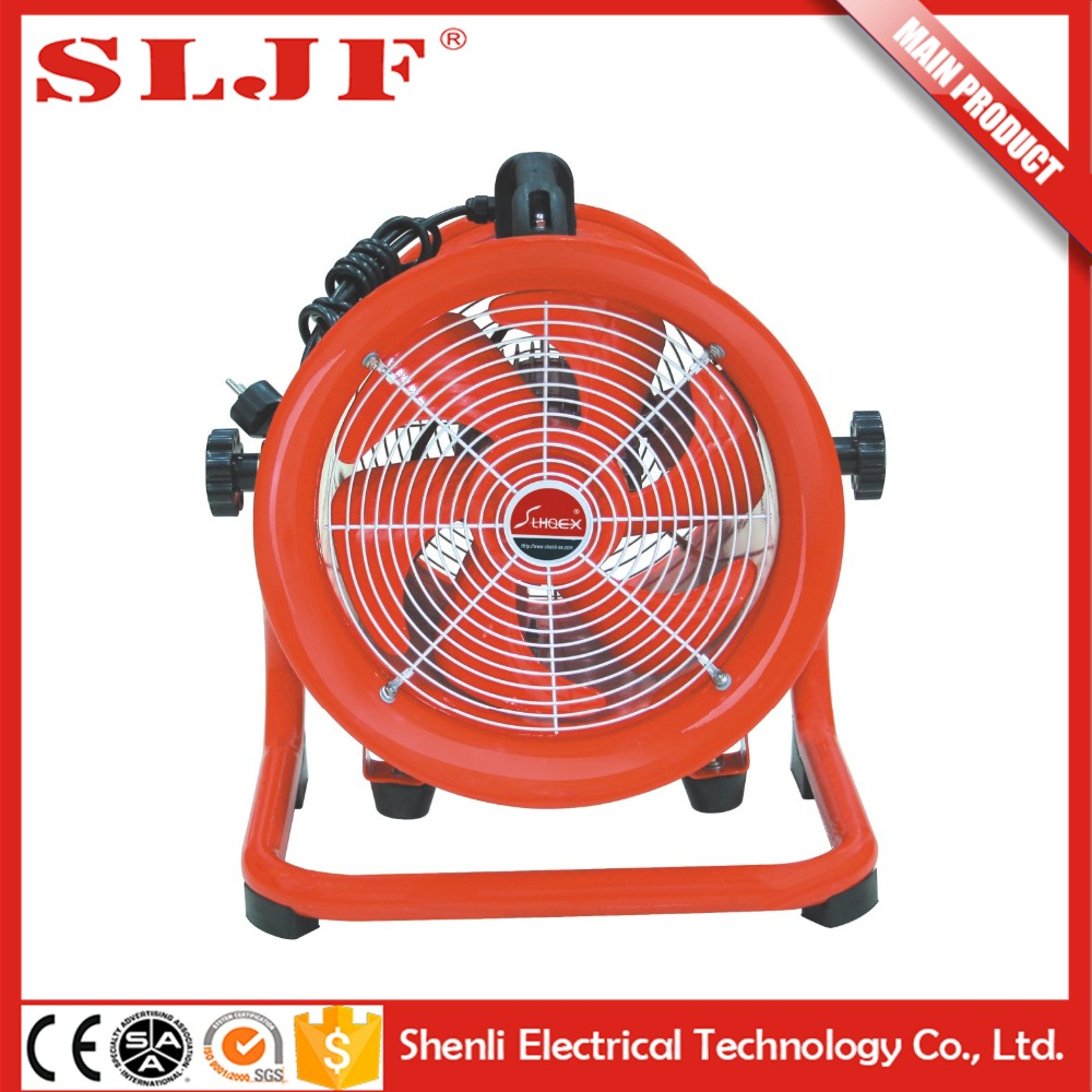 ShenLi large air ventilation standing mist hand held fan