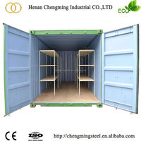 16ft Foldable Container Storage on Construction Site