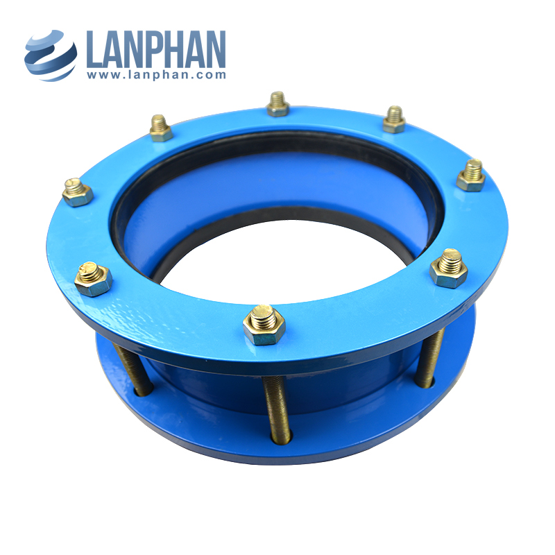 end flange with joint expansion rubber hypalon spheret single