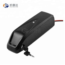 down tube style 48v 11.6Ah lithium ion battery pack for electric bike