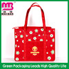 Cute recycled custom promotional pp laminated nonwoven shopping fabric bag