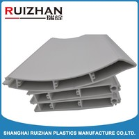 Chinese Top quality end cap/side frame pvc profiles for door and window