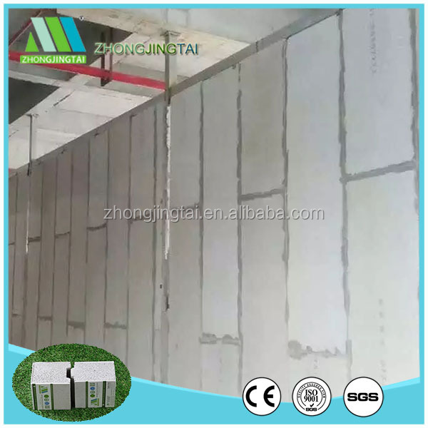 Thermal Insulation Polystyrene EPS Sandwich Wall Panel for Interior and Exterior