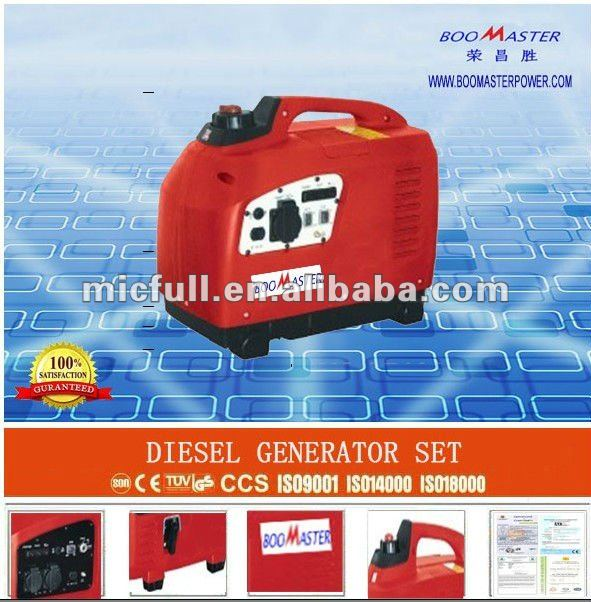 5Kw Digital Inveter Gasoline Generator with CE, GS, EPA. CARB,CSA