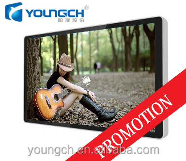 Metal frame hanging type clear picture hd resolution 22 inch wall mounted android tablet