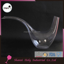 Bulk Magic angel swan animal shaped clear crystal glass wine decanter aerator glassware YHL16DC019