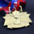 Custom die cut metal gold 3D jiu jistu sports 1st place medals