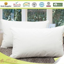 Soft like Down Plain White Microfibre Cushion Pillow