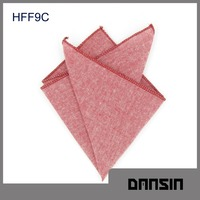 Fashion Designl High Quality Cotton Mens Handkerchief