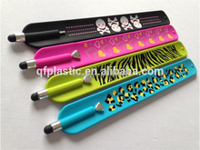 Hot selling stylus pen with slap bracelet welcome to customized pattern