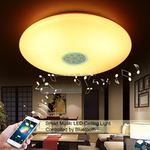 Smart phone control home 15W 20W 30W RGBW Wifi Smart Led ceiling light